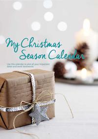My Christmas Season Calendar