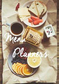 Menu Planners
